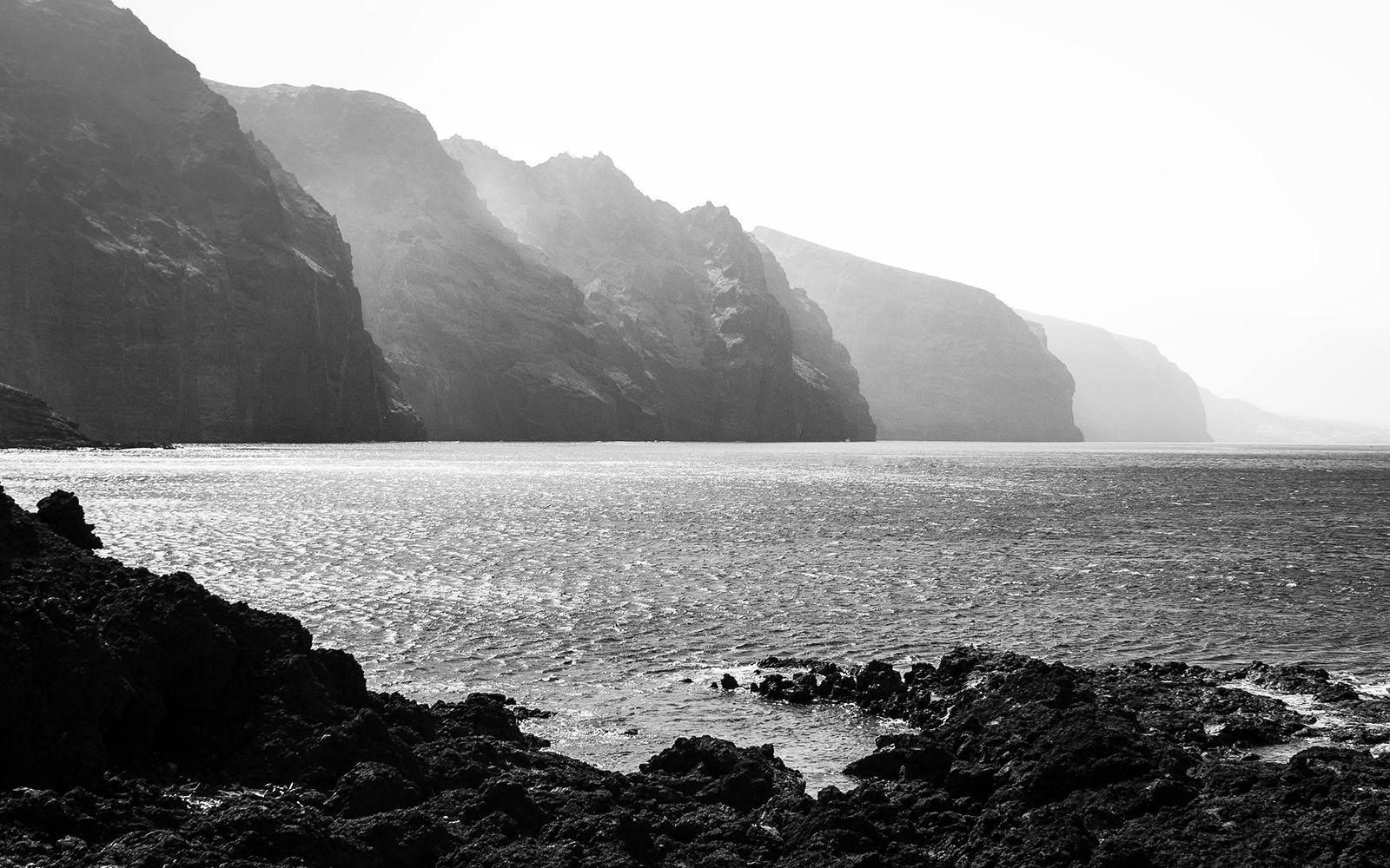 Tenerife - Los Gigantes - Black & White Fine Art Photography Series