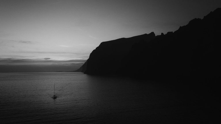 Tenerife IV - Los Gigantes - Masca - Black & White Fine Art Photography Series