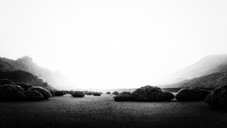 Tenerife - Parque Nacional del Teide - Black & White Fine Art Photography Series