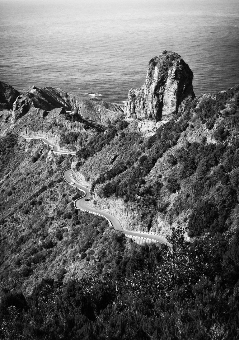 Tenerife - Anaga Mountain Road - Black & White Fine Art Photography Series