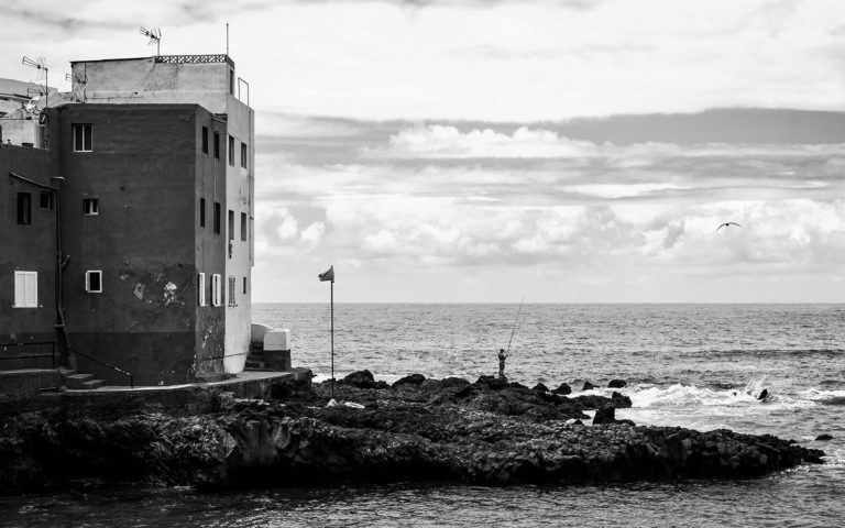 Tenerife - Punta Brava - Black & White Fine Art Photography Series