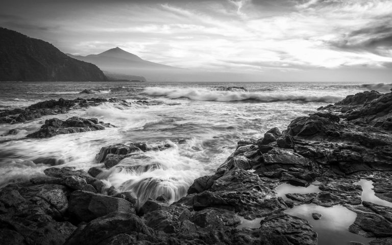 Tenerife - Playa de la Arena - Black & White Fine Art Photography Series