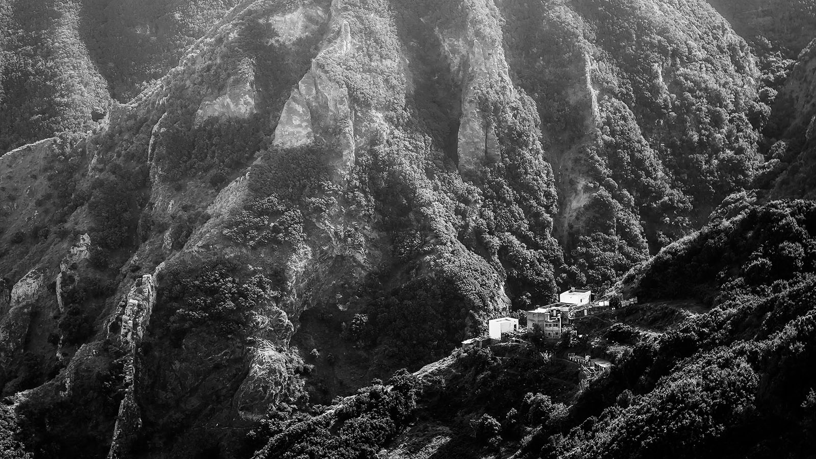 Tenerife - Anaga Mountain Village - Black & White Fine Art Photography Series