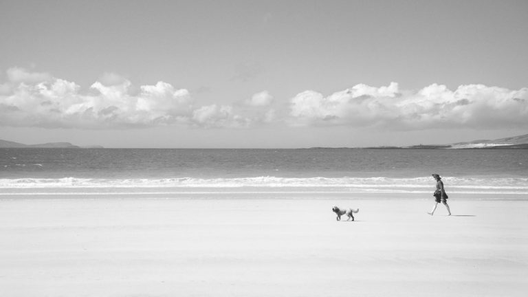 Scotland - Isle of Lewis Horizon - Black & White Fine Art Photography Series