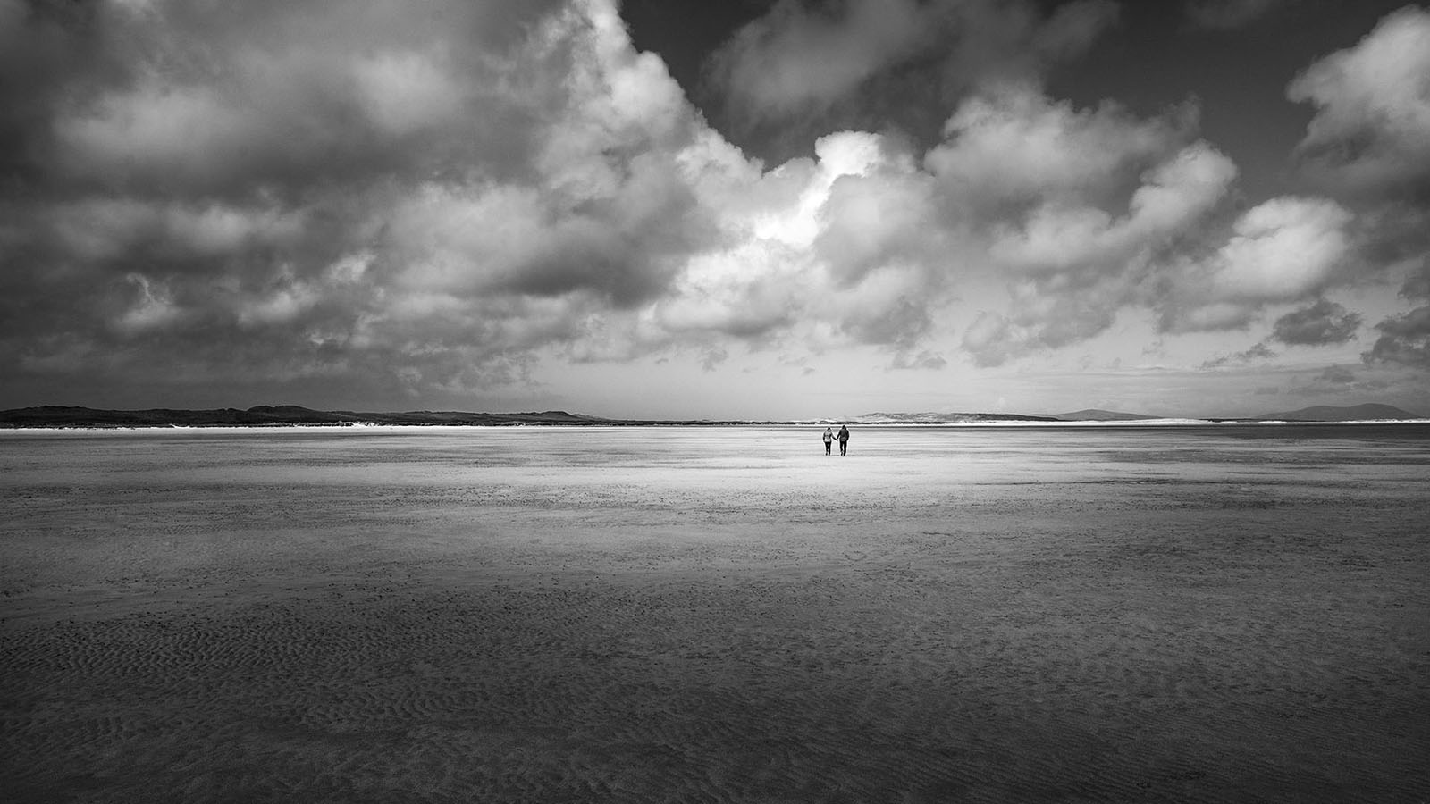 Scotland - Ilse of Uist - Black & White Fine Art Photography Series