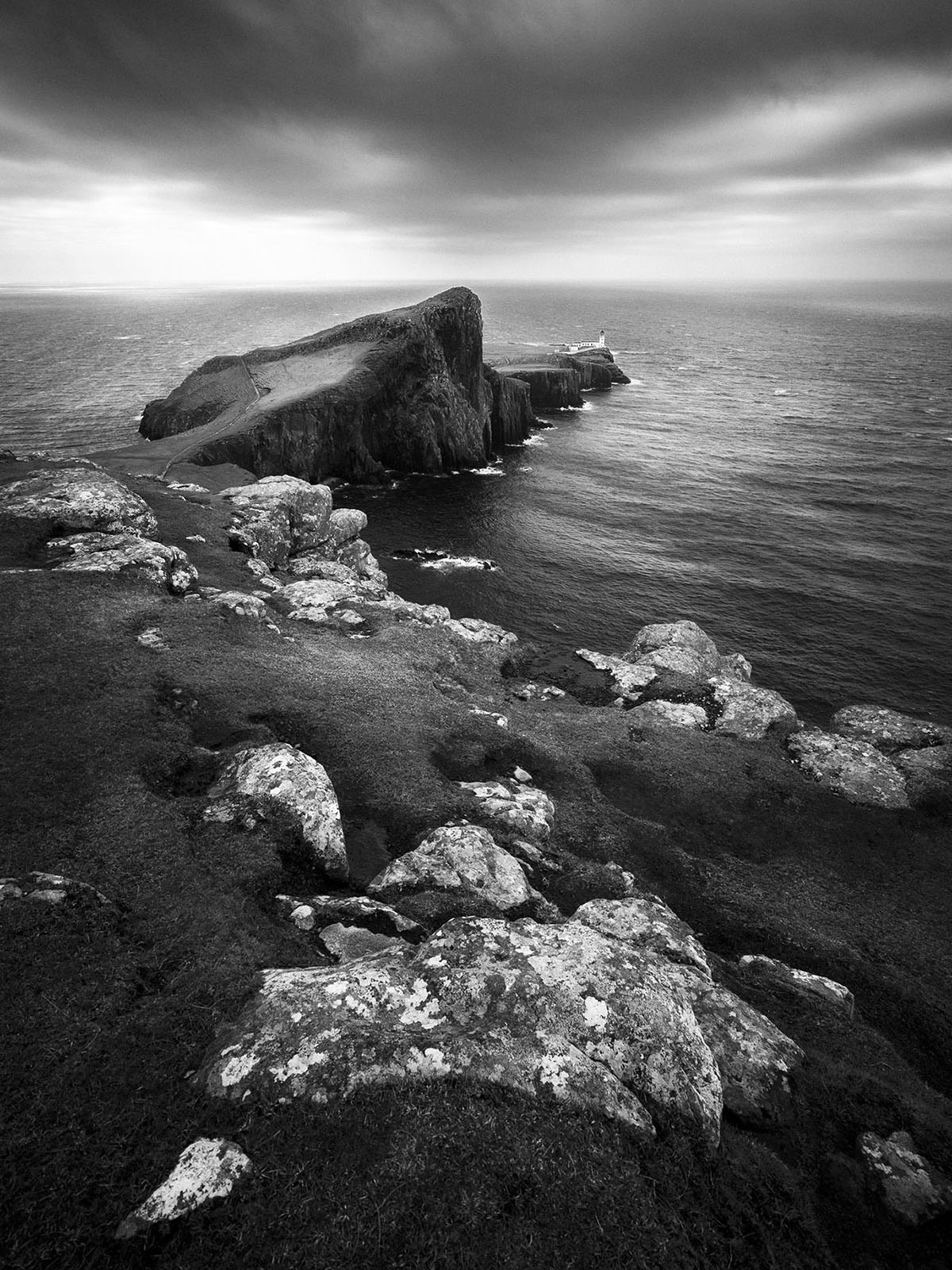 Scotland - Neist Point - Black & White Fine Art Photography Series