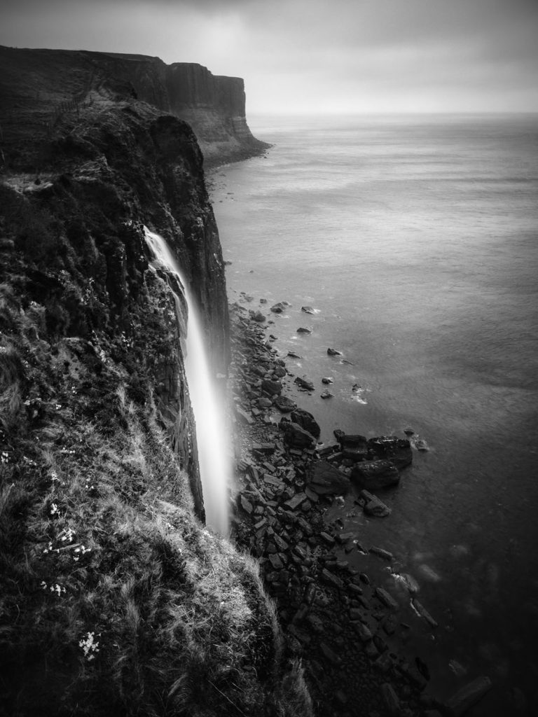 Scotland - Kilt Rock - Black & White Fine Art Photography Series