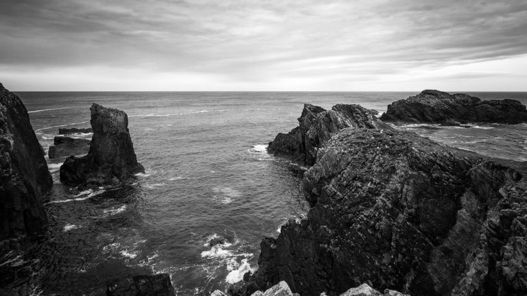 Scotland - Butt of Lewis - Black & White Fine Art Photography Series
