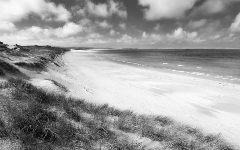 Scotland - Endless Beach - Black & White Fine Art Photography Series