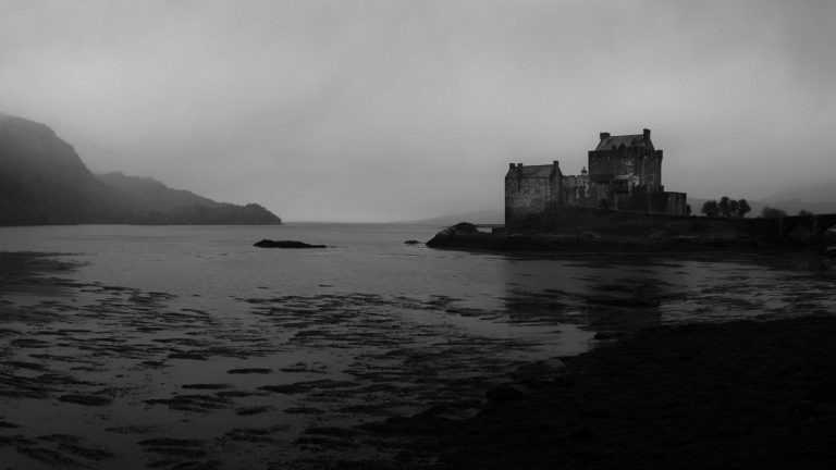 Scotland - Eilean Donan Castle - Black & White Fine Art Photography Series