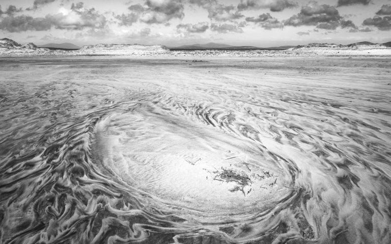 Waves of Sand - Isle of Lewis - Black & White Fine Art Photography Series