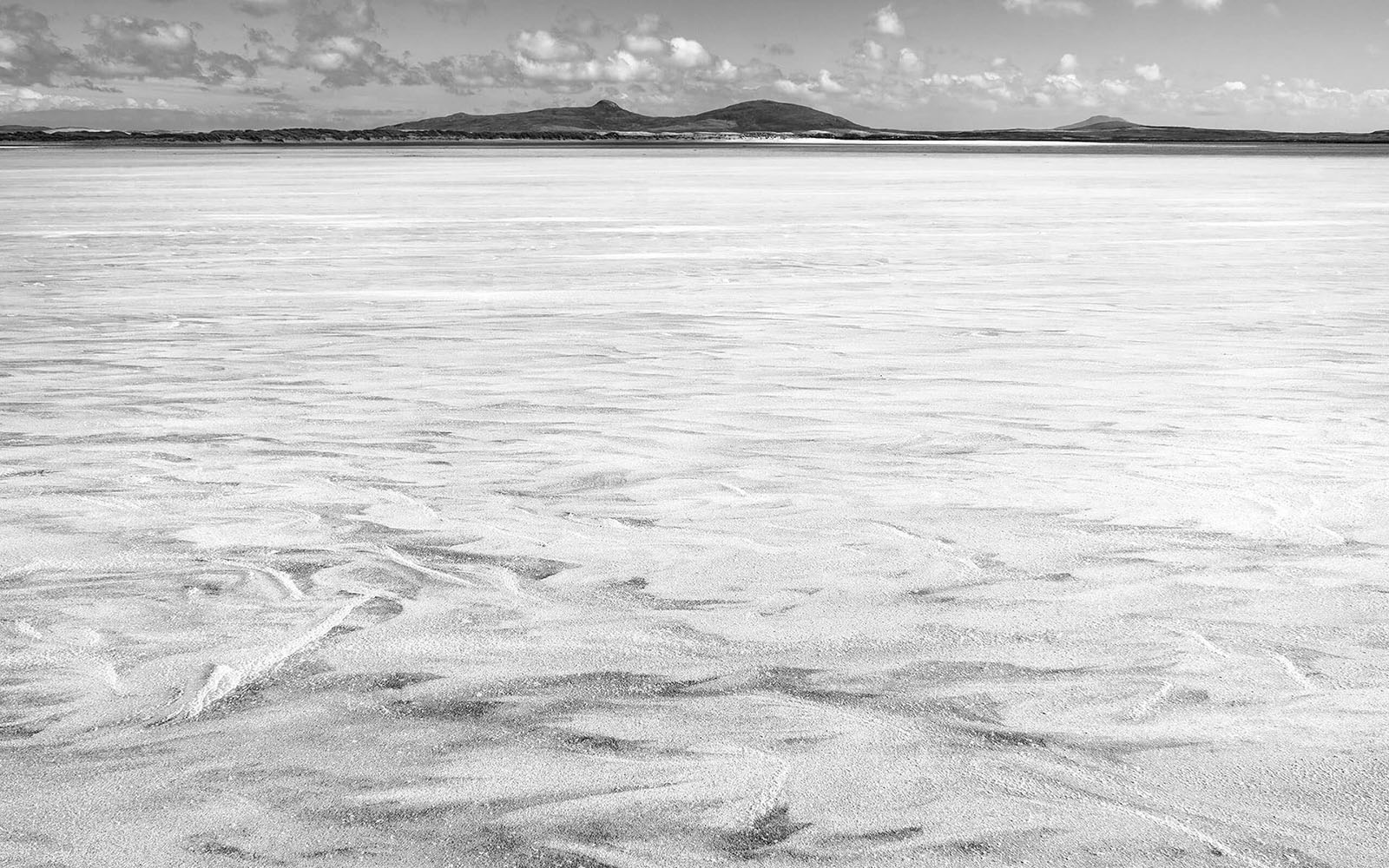 Waves of Sand - Snow - Black & White Fine Art Photography Series