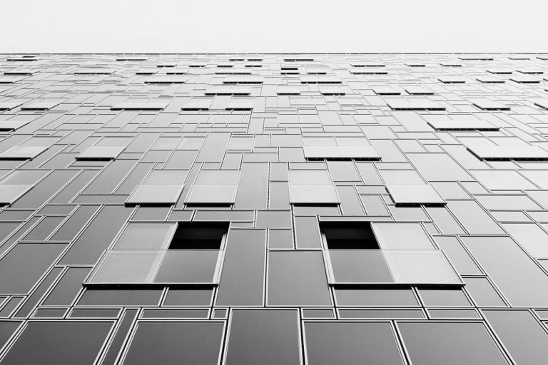 PEMA II, Innsbruck, Austria - LAAC Architekten - Game of Shapes - Black & White Fine Art Architecture Series