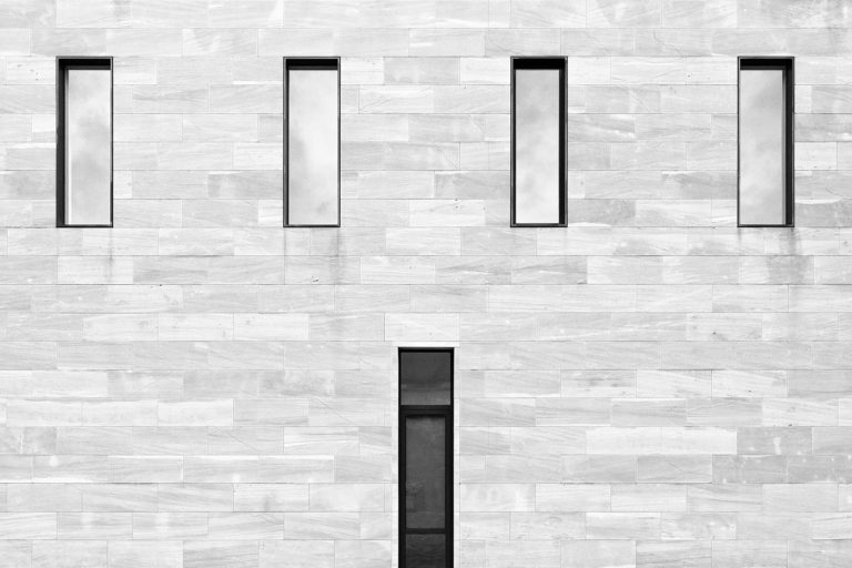 Neues Museum, Nuremberg, Germany - Architect: Solker Staab - Game of Shapes - Black & White Fine Art Architecture Series