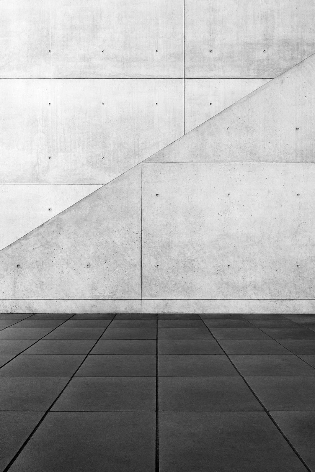 Pinakothek der Moderne, Munich, Germany - Architect: Stephan Braunfels - Game of Shapes - Black & White Fine Art Architecture Series