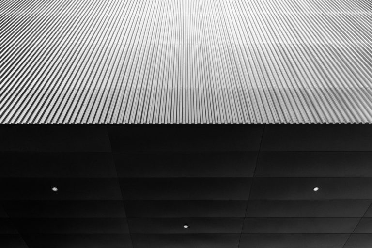 Exhibition Hall X, Innsbruck, Austria - Architect: Cukrowicz Nachbaur Architekten - Game of Shapes - Black & White Fine Art Architecture Series